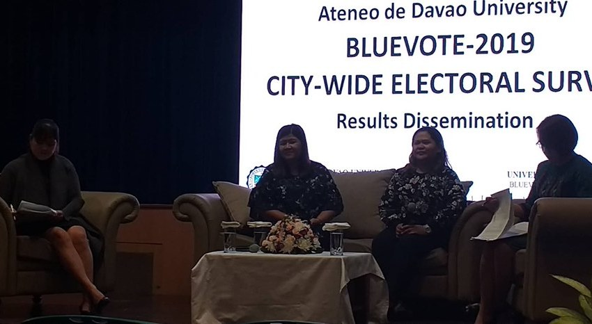 Hugpong bets top AdDU Blue Vote survey