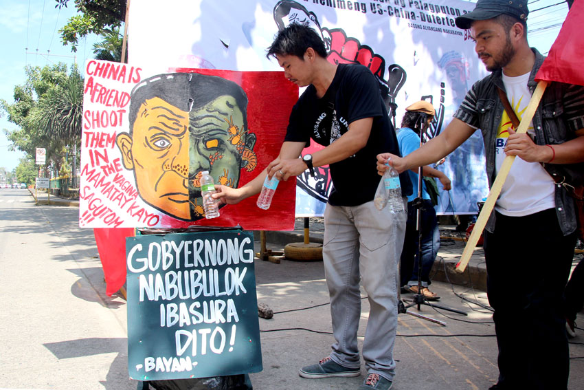 IN PHOTOS: Davao activists call for Duterte's ouster on 4th SONA