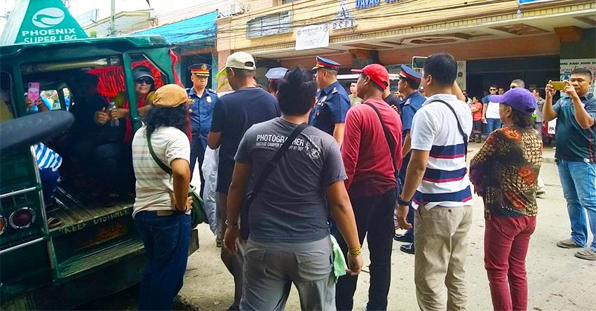 KMU decries police harassment during picket