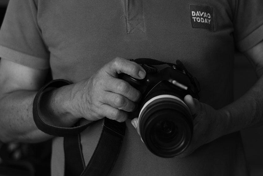 Capturing protests in Hernani's lens