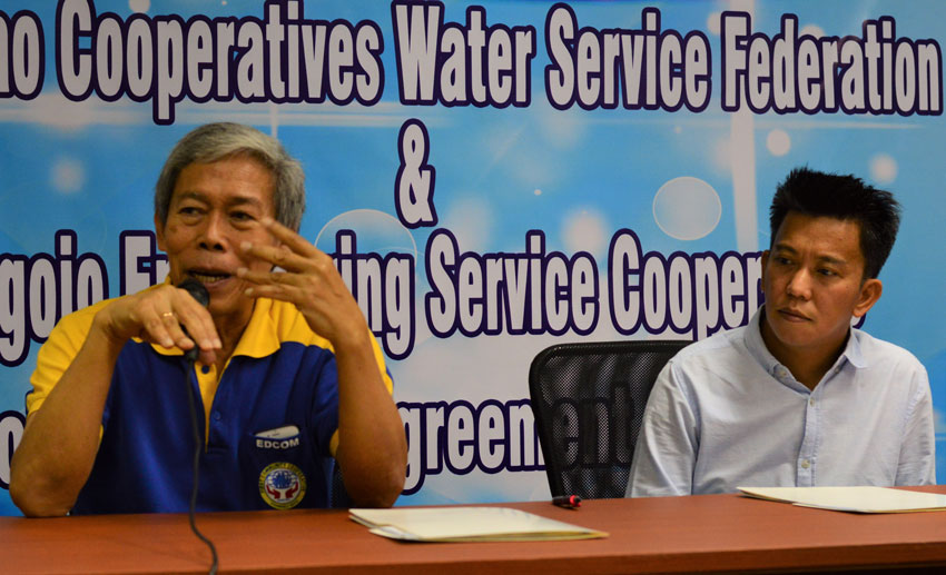Coops, water firm ink agreement to provide water to CDO rural villages