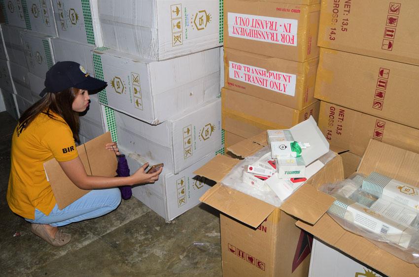 P882-M fake cigarettes seized in CDO warehouses
