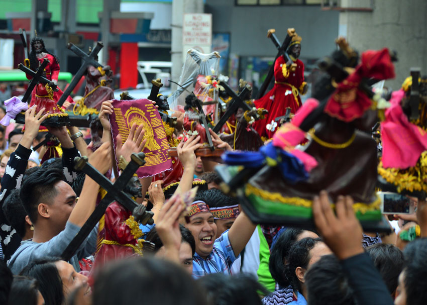 Black Nazarene devotee: Faith, prayer more important than religious objects