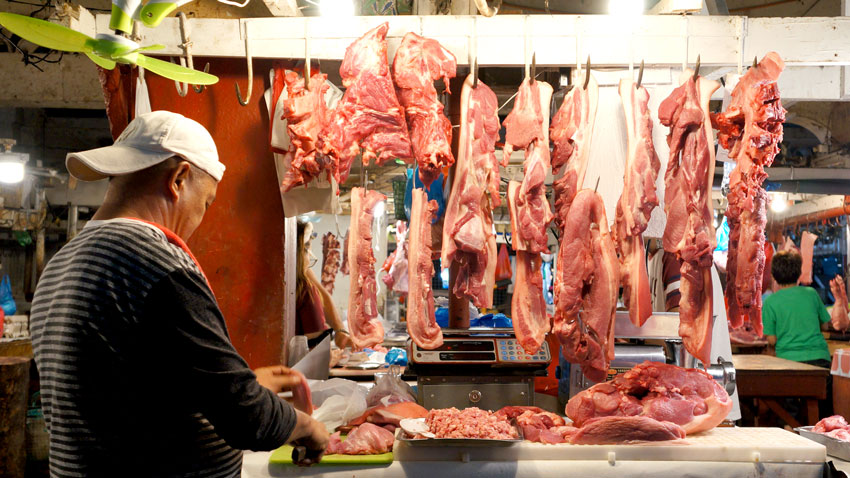 Subsidy for hog raisers, meat vendors pushed