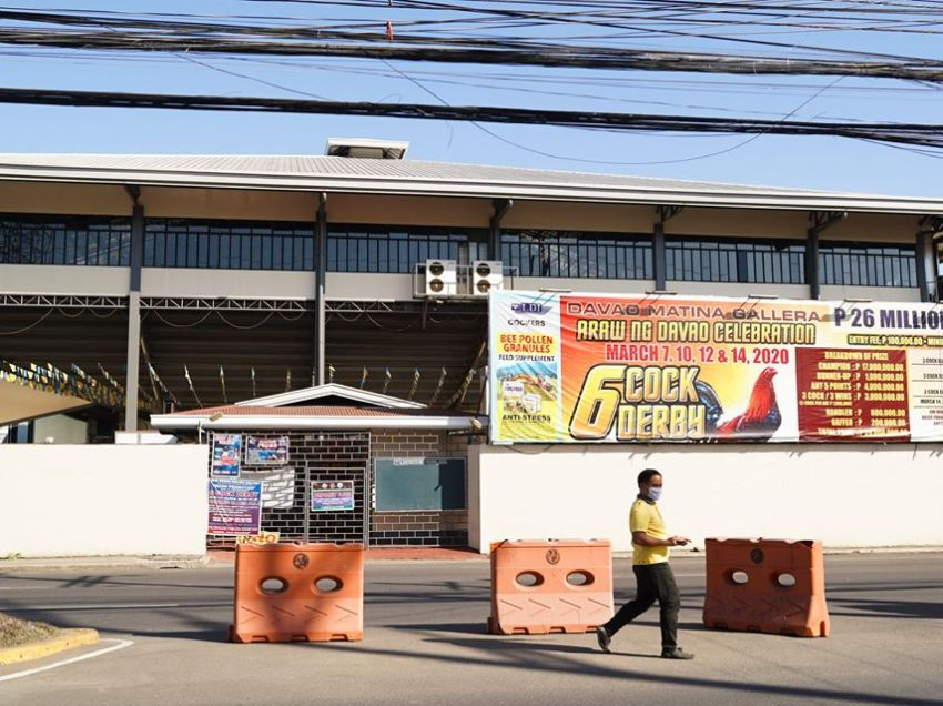 """City licensing chief resigns for allowing cock derby, """"ground zero"""" of Davao COVID-19 case"""