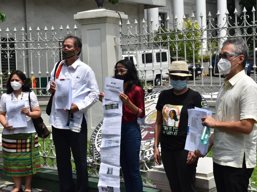 Indigenous, Moro leaders file 26th petition vs Anti-Terror Law