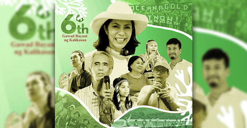 Gina Lopez, Lumad women awardees for environment protection