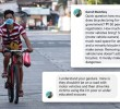 Bike safety advocates surprised by online criticism from environmentalist