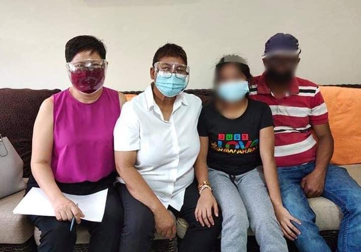 Granted writ reunites Lumad father, daughter held under DSWD-7 custody