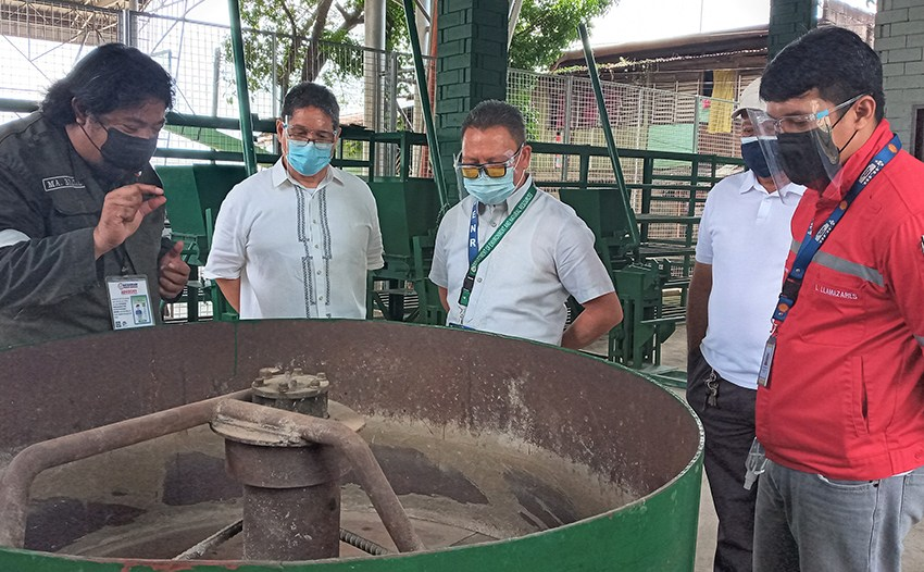 Fuel firm, 'green' group team up in 'waste-to-brick' project in Cagayan de Oro