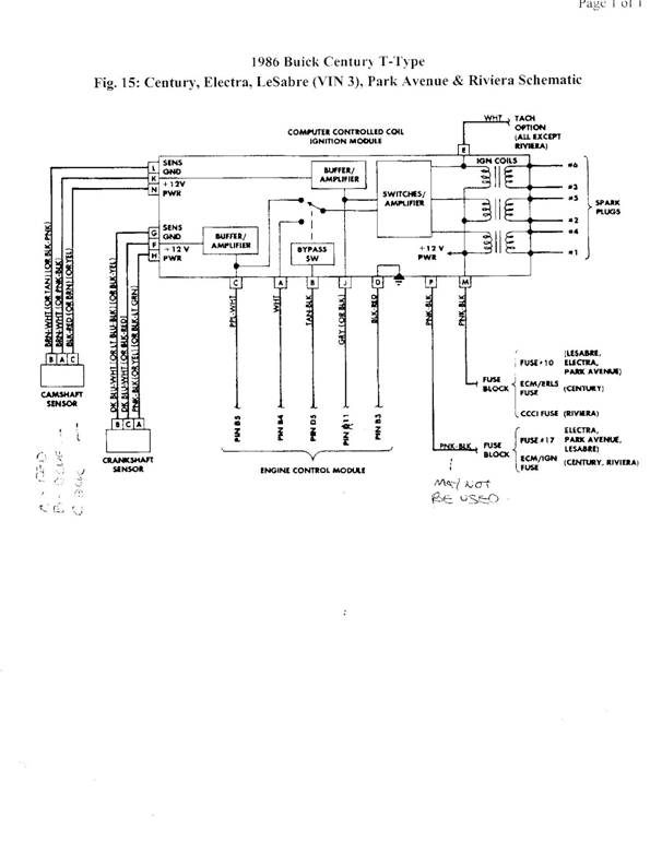Buick Grand National Wiring Harness Wiring Diagram