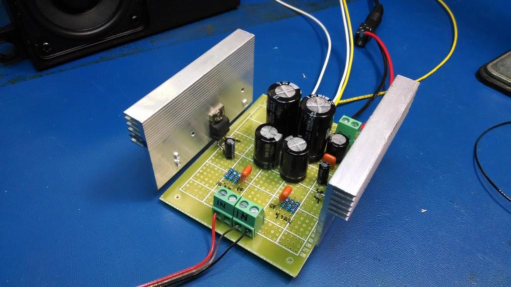 20W Amplifier Project