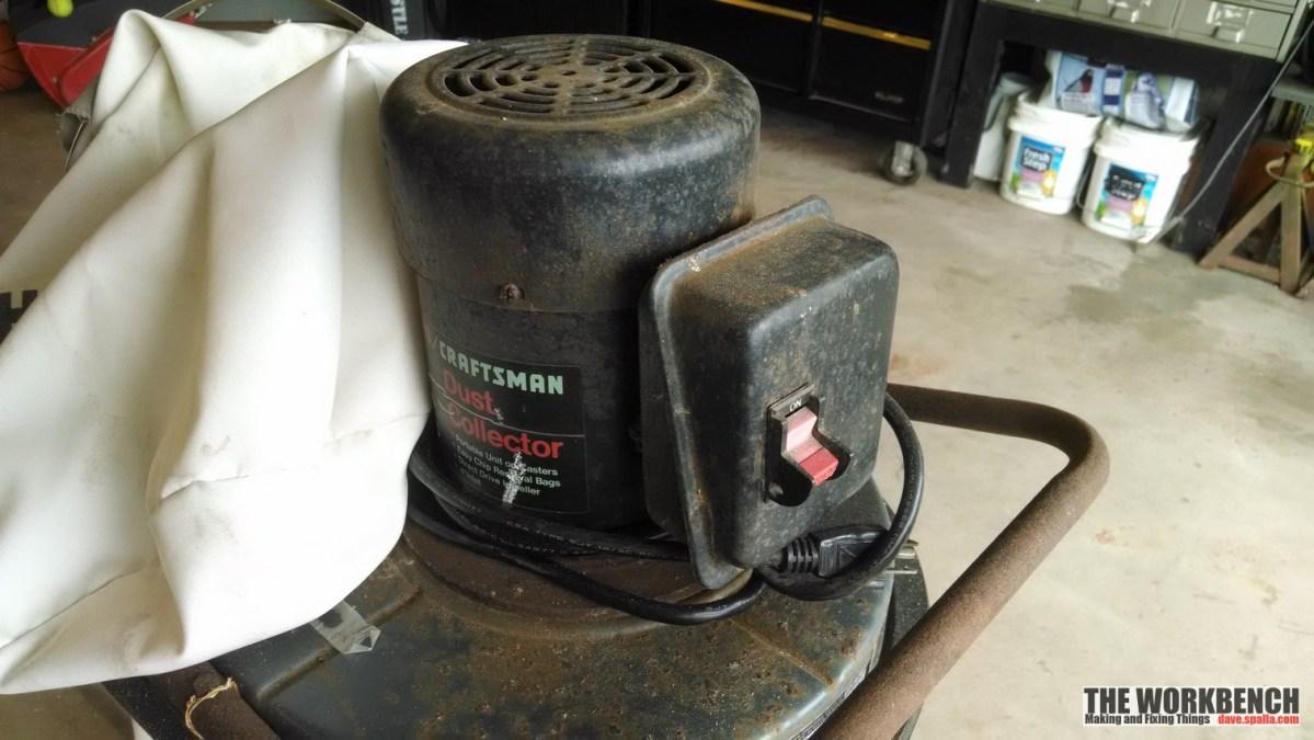 Sears Craftsman Dust Collector Refurb (113.299780)