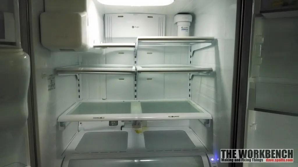 GE Refrigerator PFSS6PKXDSS:  Water Leak Under Deli Drawer
