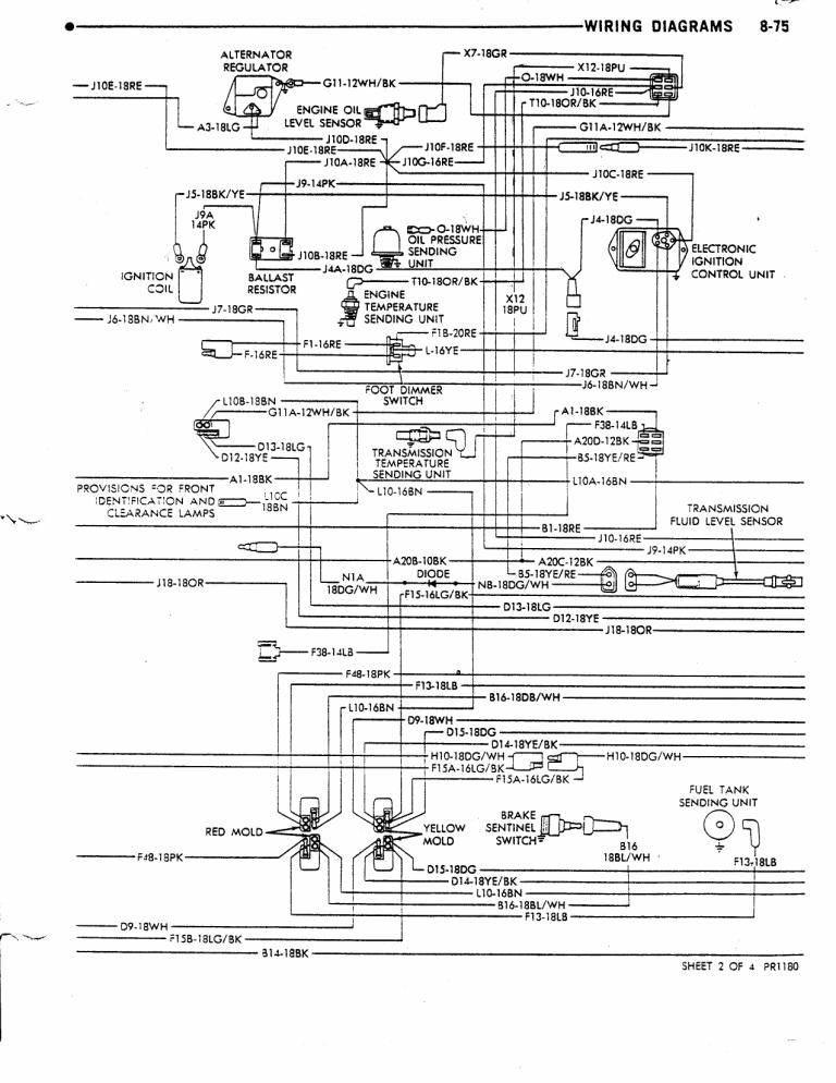 78 dodge wiring diagram