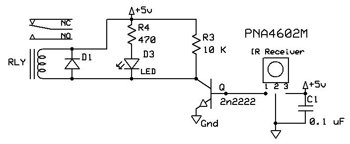 relay switch with diode
