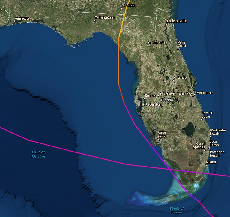 See every Florida storm\u0027s path for the past 100 years