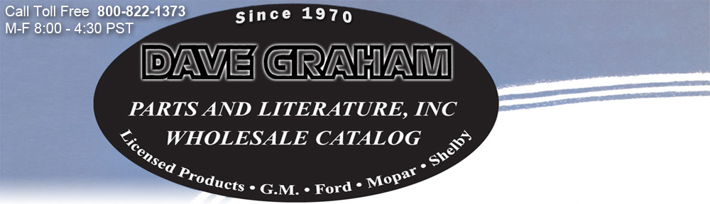 Dave Graham Auto Literature, Inc Since 1970 we have been