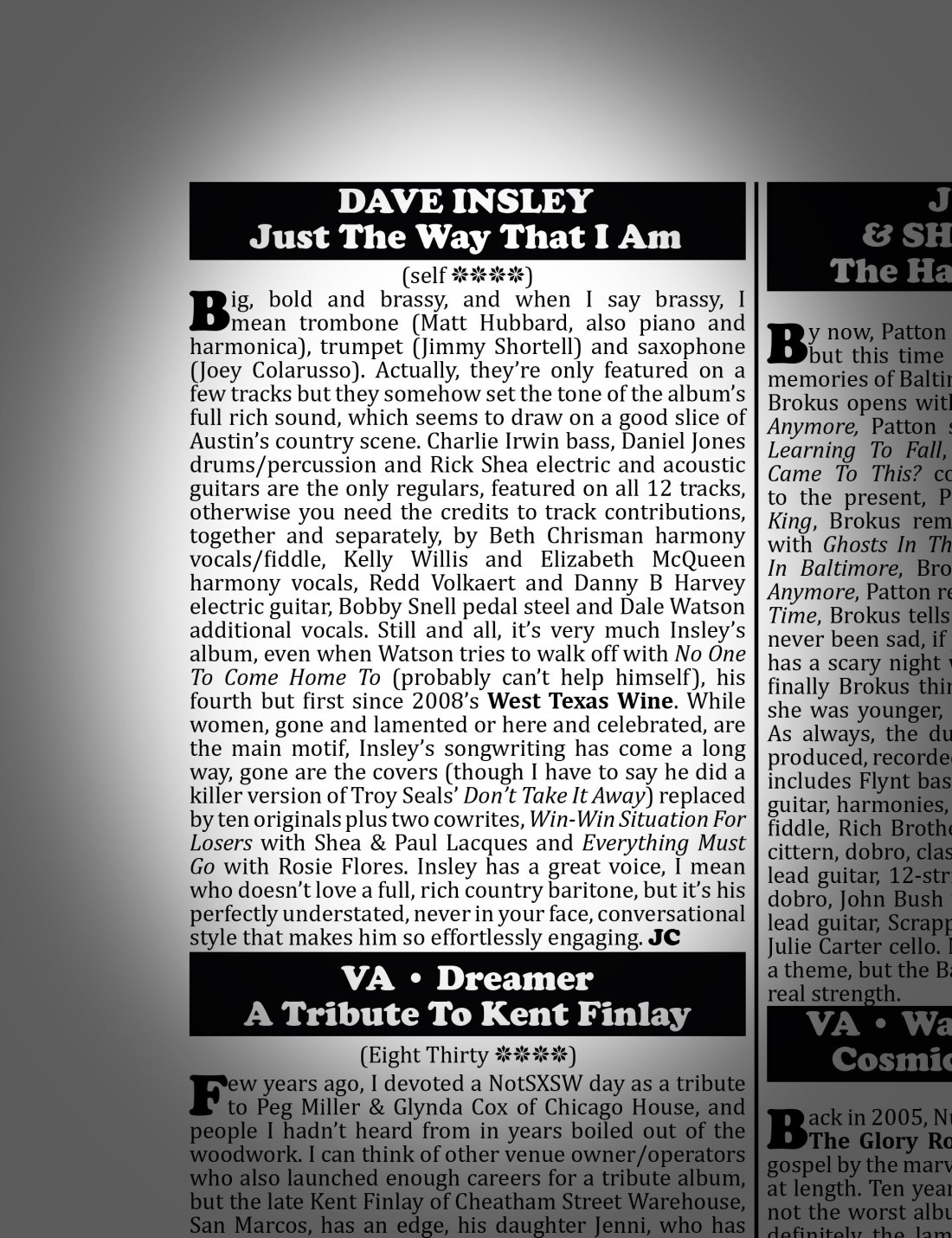 3rd-Coast-Music-review-of-Dave-Insley's-'Just-The-Way-That-I-Am'
