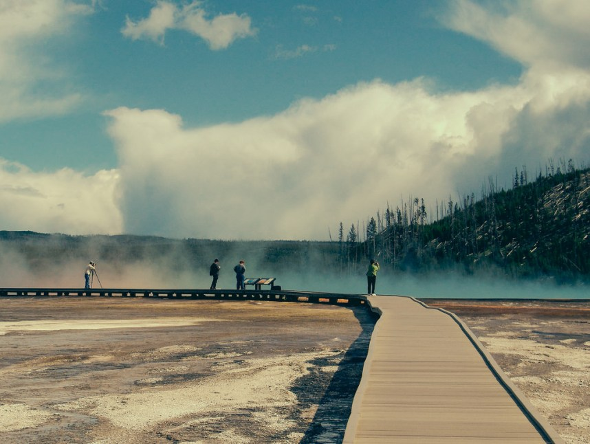 Hot Springs - Yellowstone