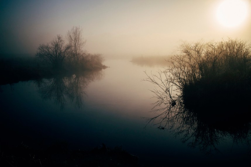 Fog On the Kalamazoo River