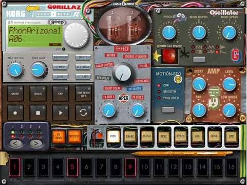 iElectribe, Gorillaz Version