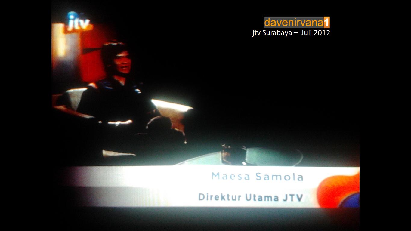 Berita Pojok Kampung Jtv  Re Launch Jtv Surabaya Dan Jtv Network Davenirvana1