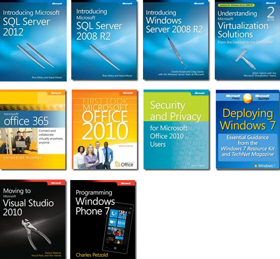 FREE 10 technical ebooks from Microsoft Daves Computer Tips - office word cover page