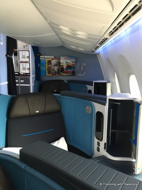 First Class A380 Lufthansa Klm's Boeing 787-9 Dreamliner Makes Inaugural Flight To