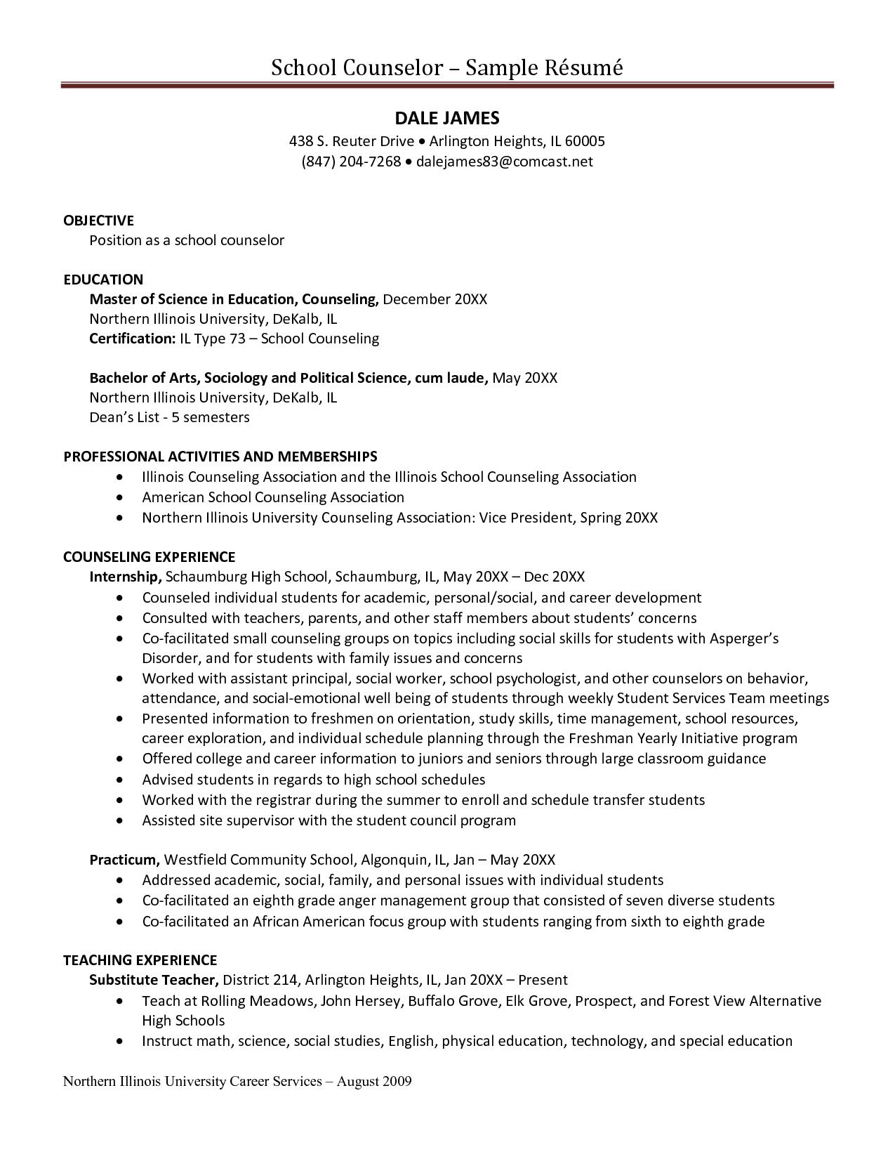 sample resume high school counselor professional resume cover sample resume high school counselor sample resume high school student academic aie high school guidance counselor