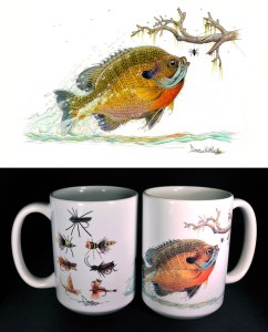 Bluegill ART mug