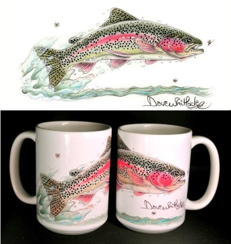 Trout ART Mug