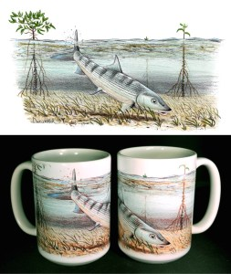 Bonefish ART Mug