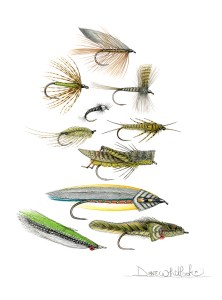 Classic Trout Fly Designs