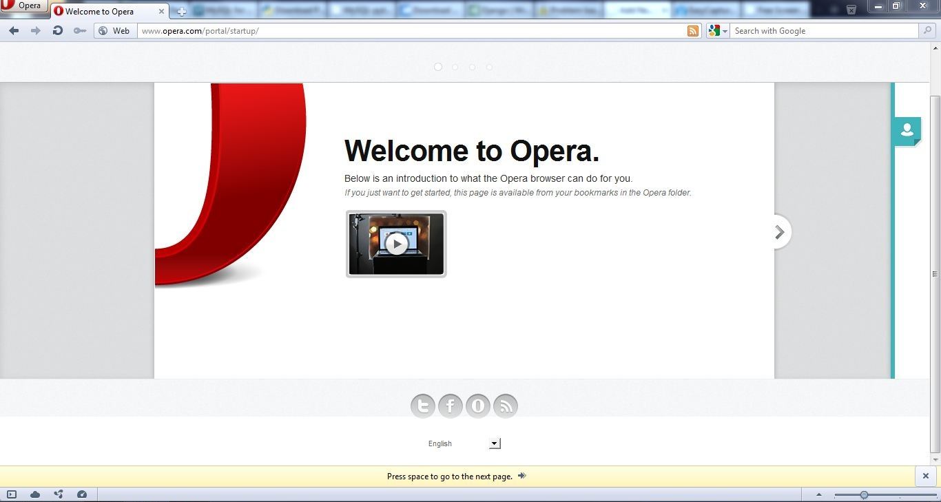 Browser Opera Opera Even Downloads And Installs The Fastest Of All Browsers