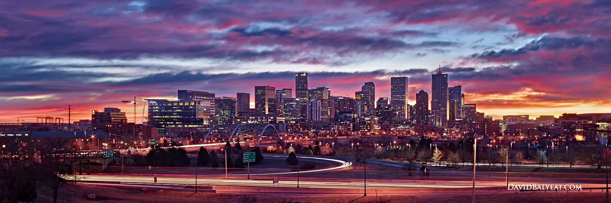 Seattle Washington Fall Skyline Wallpaper Mile High City Denver David Balyeat Photography Portfolio