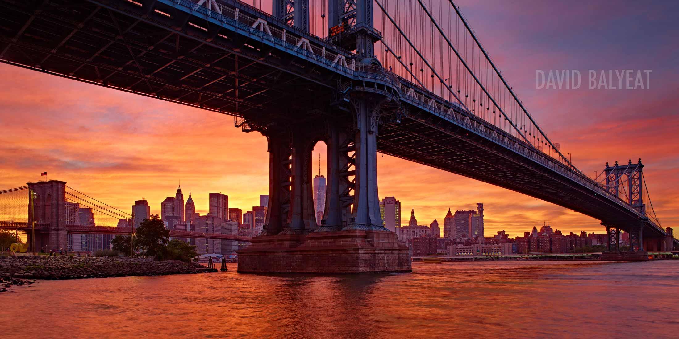 Seattle Washington Fall Skyline Wallpaper Manhattan Bridge New York City David Balyeat
