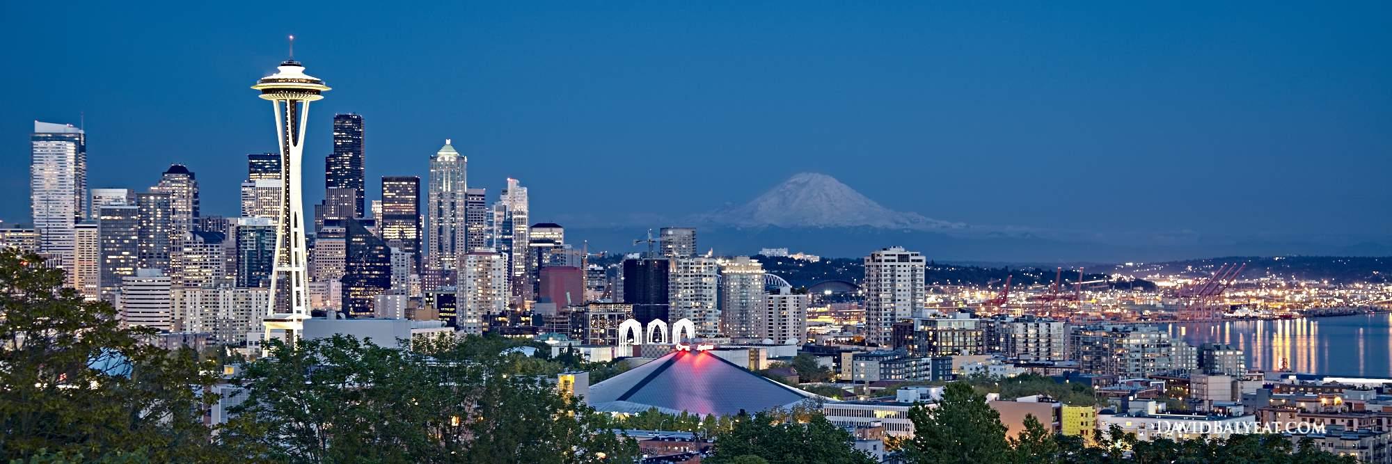 Seattle Washington Fall Skyline Wallpaper Portal To The Pacific Seattle David Balyeat