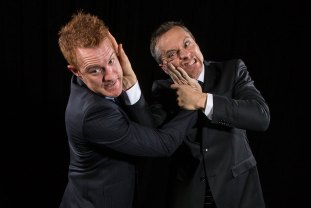 """Ensemble Theatre Co. - """"Best Brothers"""" publicity photo 11/23/14"""