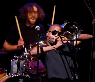 Trombone Shorty 10/7/11 Campbell Hall - UCSB Arts & Lectures