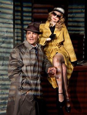 """Ensemble Theatre Co. - """"Gunmetal Blues"""" publicity photo 8/19/09"""