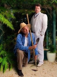 """Ensemble Theatre Co. - """"Humble Boy"""" publicity photo 9/5/05"""