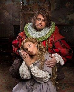 """Opera Santa Barbara - Singers in """"Rigoletto"""" publicity photo 10/24/14"""