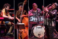 The Spring Quartet - Jack DeJohnette, Joe Lovan, Esperanza Spalding and Leo Genovese 2/18/14 Lobero Theatre