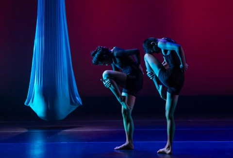 "UCSB Dept. of Theater & Dance - ""Five Quiets"" 4/9/14 Hatlen Theater"