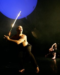 "Lit Moon World Theater Fest - DoTheatre ""Bird's eYe view"" 9/26/04 Center Stage Theater"