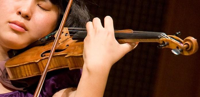 Ji Eun Kim, Music Academy of the West - Picnic Concert 8/14/08 Hahn Hall