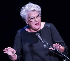 """Tyne Daly - """"Curtain Up"""" at the New Vic Theatre 11/9/13 Santa Barbara"""