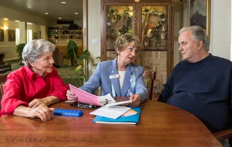 DASH - Doctors Aassisting Seniors at Home 6/10/14 Garden Court on De La Vina