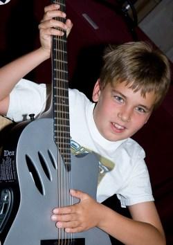 Santa Barbara Symphony Guitar Fest - Boy with Guitar 3/28/09 Granada Theatre